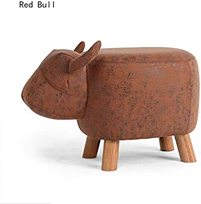 Size Small Sits on a shelf edge Sitting Cow Wood Statue