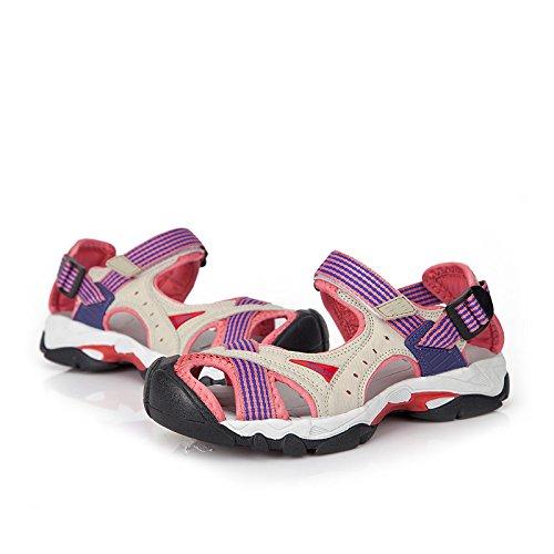 Qianling Collectie Dames Sport Sandalen 80% Pu / 20% Mesh Atletische Sandalen Roze