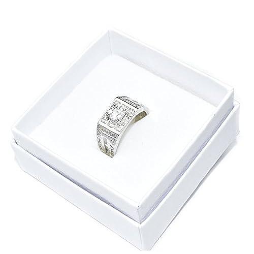 febefd163aa2 Chic Amazing para hombre de alta calidad Cubic Zirconia Anillo de Diamante