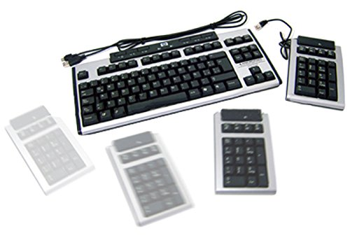 HP - HP Spanish Modular USB Key- board w/ KU-0412 352753-161 KU-0412.Silver and Carbonite (Usb Flash Modular Drive)
