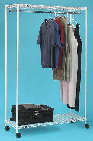 InterMETRO Special PrePacks White Garment Rack ()