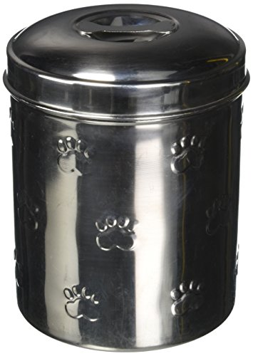 Iconic Pet Different Sizes Of Canister With Embossing (Set of 4) (Bowl Pet Canister)