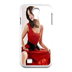 Samsung Galaxy S4 9500 Cell Phone Case White Olivia Wilde In Red Dress T3K1OC