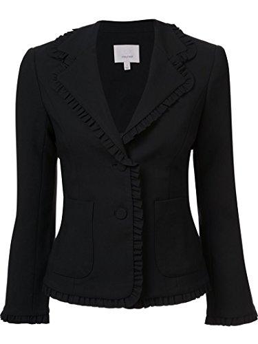 Pinstriped Stretch Jacket - 7