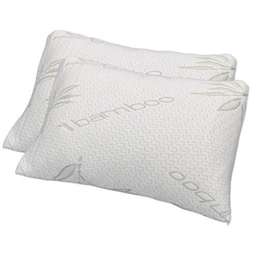 Hotel Comfort Premium Bamboo Memory Foam Pillow King Size -