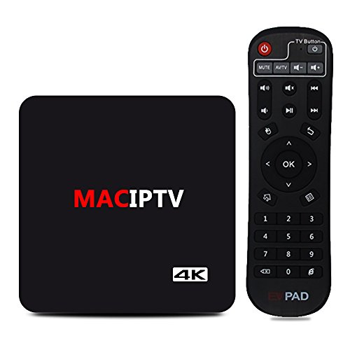 MACOBOX IPTV Android TV Box 8 Core H.265 4K Satellite TV UBox Unlocked Oversea Version with 1500+ Global Live Channels With Chinese HK Korea Taiwan Japanese Asian TV Channels by MACOBOX