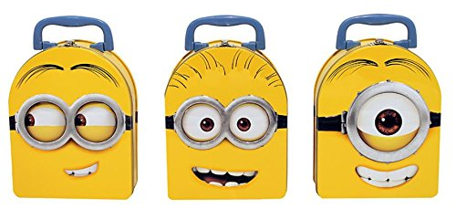 - Despicable Me Arch Shape Carry All Tin Box x 3 (1 Style Each)
