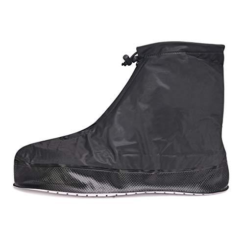 SZAT PRO Shoe Covers Rain Boots Waterproof for men women(Black XXXXL) ()