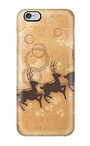 AnnDavidson Premium Protective Hard Case For Iphone 6 Plus- Nice Design - Christmas Clip Art