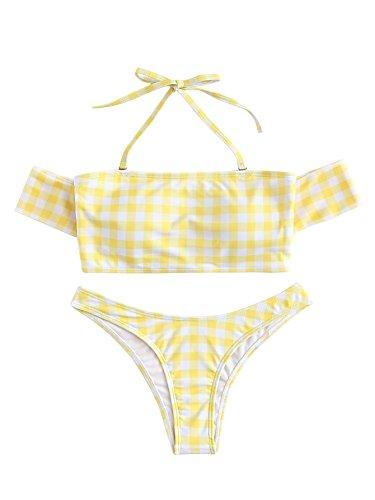 Gingham Bikini Set in Australia - 5