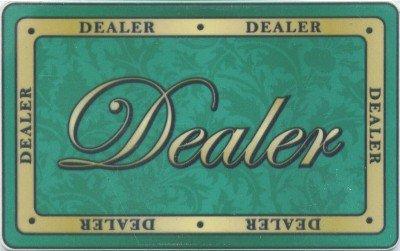 UPC 642302032022, Formal Dealer Button Ceramic Poker Plaque
