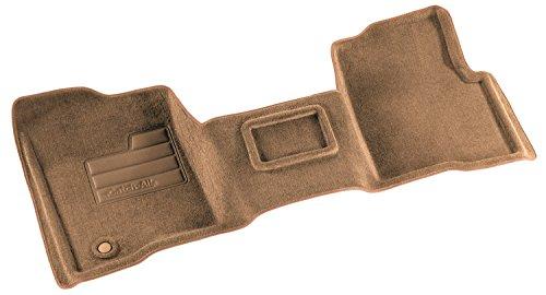 Lund 682112 Catch-All Premium Tan Carpet 1-Piece Front Floor Mat (Center Tan Floor Hump Cab)
