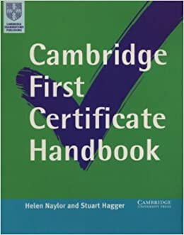 Book Cambridge First Certificate Handbook (Cambridge First Certificate Skills)