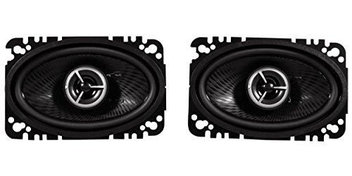 """Brand New Kenwood Excelon KFC-X463C 4"""" x 6"""" 2 Way Pair Of Car Audio Speakers Totalling 200 Watts Peak / 60 Watts RMS"""