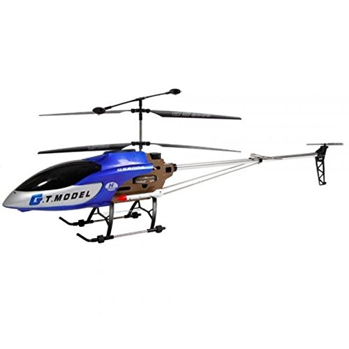 ABCsell RC Helicopter 53 Inch Extra Large GT QS8006-2 Speed 3.5 Ch Blue Builtin Gyro RC Helicopter by abcsell