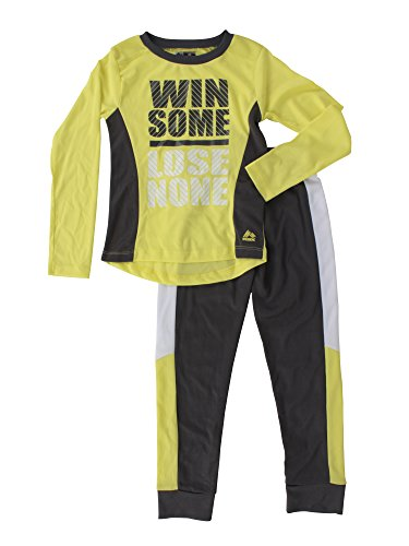 RBX Active Girls 2-Piece Pants/ Long Sleeve Set