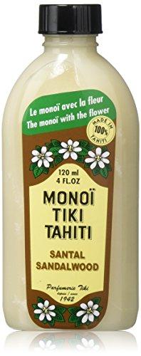 Monoi Tiare Tahiti Coconut Oil - Monoi Tiare Tahiti Santali Sandalwood Coconut Oil