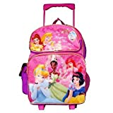Princess Roller Backpack - Full size Disney Princess Wheeled Backpack