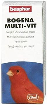 Beaphar BEA16173 Suplemento Alimenticio Multi-Vitaminas Pájaros - 20 ml