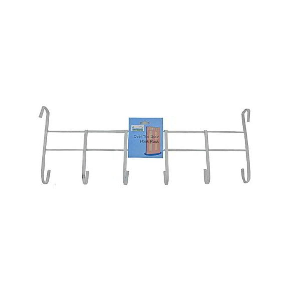 60 Over-the-door hook rack