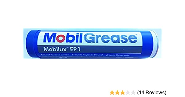 Mobilux EP 1, EP Grease, NLGI 1, 13 7 oz