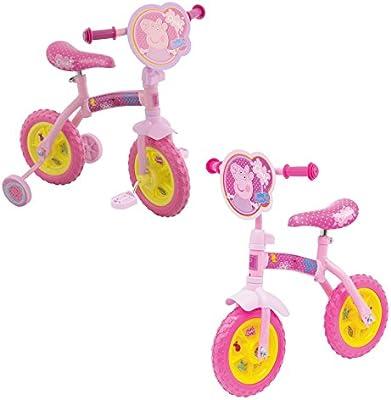 Peppa Pig 2 en 1 Balance / Formación Bike: Amazon.es: Juguetes y ...