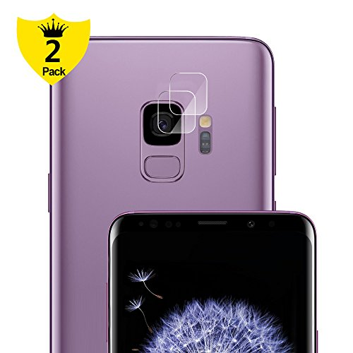 Galaxy S9 Camera Lens Protector, Alinsea Galaxy S9 Camera Screen Protector Ultra Thin 9H Hard Tempered Glass [Anti-Scratch] [High Definition] for Samsung Galaxy S9 [2 Pack]