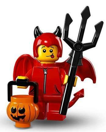 LEGO Series 16 Collectible Minifigures - Cute Little Devil Halloween (71013)