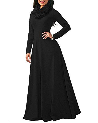 long black feather dress - 5