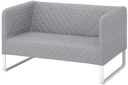 KNOPPARP IKEA - Sofá de 2 plazas, Color Gris Claro: Amazon.es ...