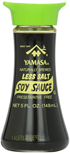 Yamasa - Less Salt Soy Sauce (5 Fl. Oz.)