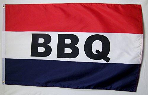 BBQ Flag 3' X 5' Indoor Outdoor  Barbecue Food Banner