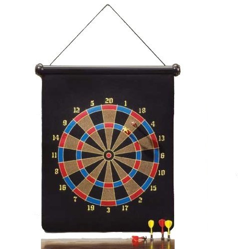 PrimeTrendz Brand New Large Magnetic Dartboard Dart Board Game W/6 Darts by PrimeTrendz