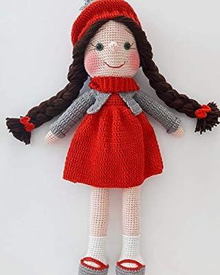 Amigurumi Tini Mini Kız-Amigurumi Tini Mini Doll - Tiny Mini Design | 400x320