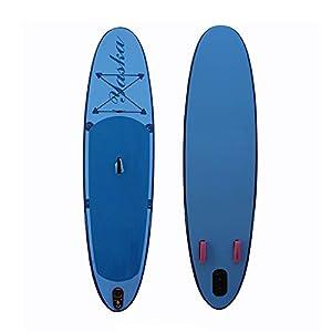 Stand Up Paddel Gonfiabile Staccabile Fin gonfiabile Stand Up Paddle insieme del bordo Con SUP accessori Carry Bag for Lago Blu galleggiante per Giovani e Adulti ( Color : Blue , Size : 305x76x10cm ) 9 spesavip