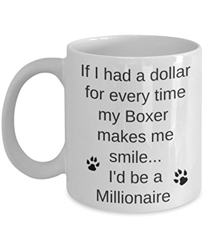 Boxer Dog Coffee Mug Best Gift for ()