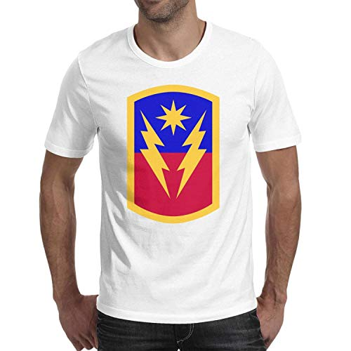 Brigade Fitted T-shirt - NVYtie 40th Infantry Brigade Combat Team Mens T Shirt Designer Tshirts for Men Cotton O-Neck Short Sleeves Fitted Tees