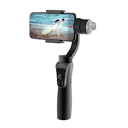 Handheld Smartphone Gimbal Stabilizer Wireless Control Cell Phone Gimbal for iPhone X 8 Plus 7 6 Huawei Mate 10 Pro Mate 9 P20 P10 Samsung Galaxy S9+ S9 S8 S7 Horizontal Shooting Face Tracking Mode