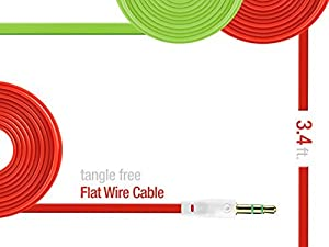 Cellet 3.5mm Audio Cable for Smartphones, Tablets, MP3 Players, Car and Home Stereo