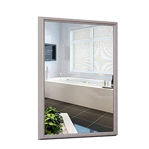 Bathroom mirror Mirror, Nordic Modern Retro Old European Bathroom Cabinet Mirror Wall Mounted Bathroom Toilet Decorative Mirror Vanity Mirror wash Mirror (Color : A, Size : 6080cm) ()