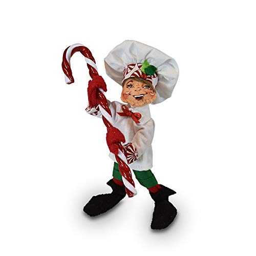 Annalee 5in Peppermint Chef Elf