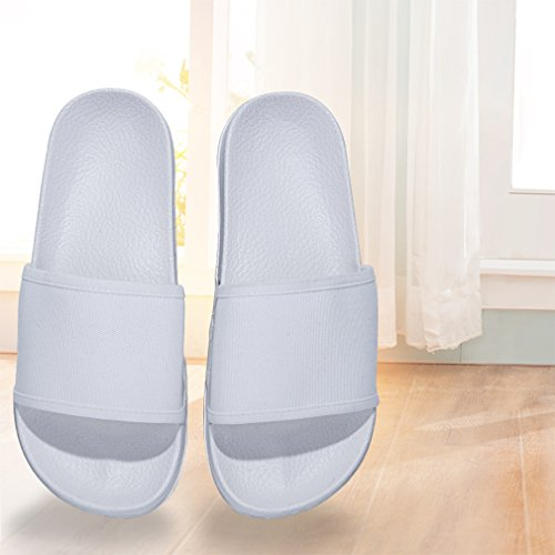 GordonKo Unisex Slide Sandals Antiskid Shower Bathromm House Casual Slippers Shoes for Kids