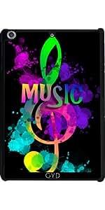 Funda para Apple Ipad Mini Retina 2/3 - La Música Del Arco Iris Clave De Sol by Blingiton