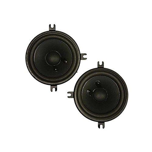 Eckler's Premier Quality Products 55288341 El Camino Front Corner Dash Speakers Ken Harrison Direct Replacement (Dash Camino El)