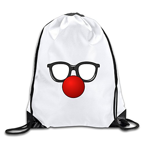 Hunson - Novetly Clown Backpack Sack Bag Drawstring Sling Backpack For Men & Women Sackpack