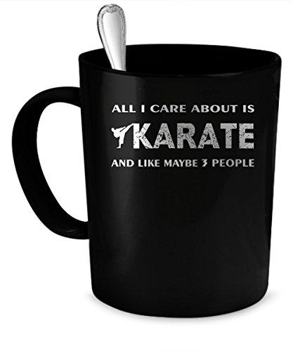 Karate Coffee Mug. Karate gift 11 oz. black