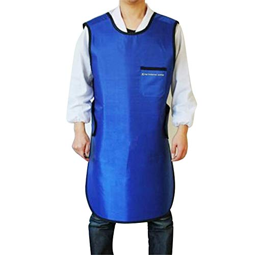 X-Ray Protection Apron,Fencia X-Ray Protective Cloth Lead Radiation Protection Apron Gel Coat 0.35mmpb ()