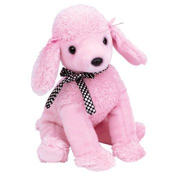 b470add209a Image Unavailable. Image not available for. Color  TY Beanie Buddy -  BRIGITTE the Poodle Dog
