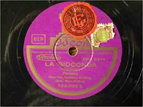 Antiguos discos pizarra - Old slate - LA GIOCONDA: Amazon.es ...