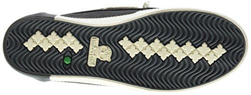 Timberland Damen Newport Bay Canvas Boot O Bootsschuhe Schwarz (zwart)
